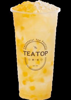 芒果鳳梨果粒茶