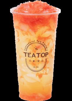 葡萄柚果粒茶